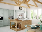 Painted and Knotty Traditional Kitchen