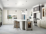 Panited in Porcelain and Stone Kitchen