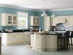 Ivory Coloured Traditional Kitchen