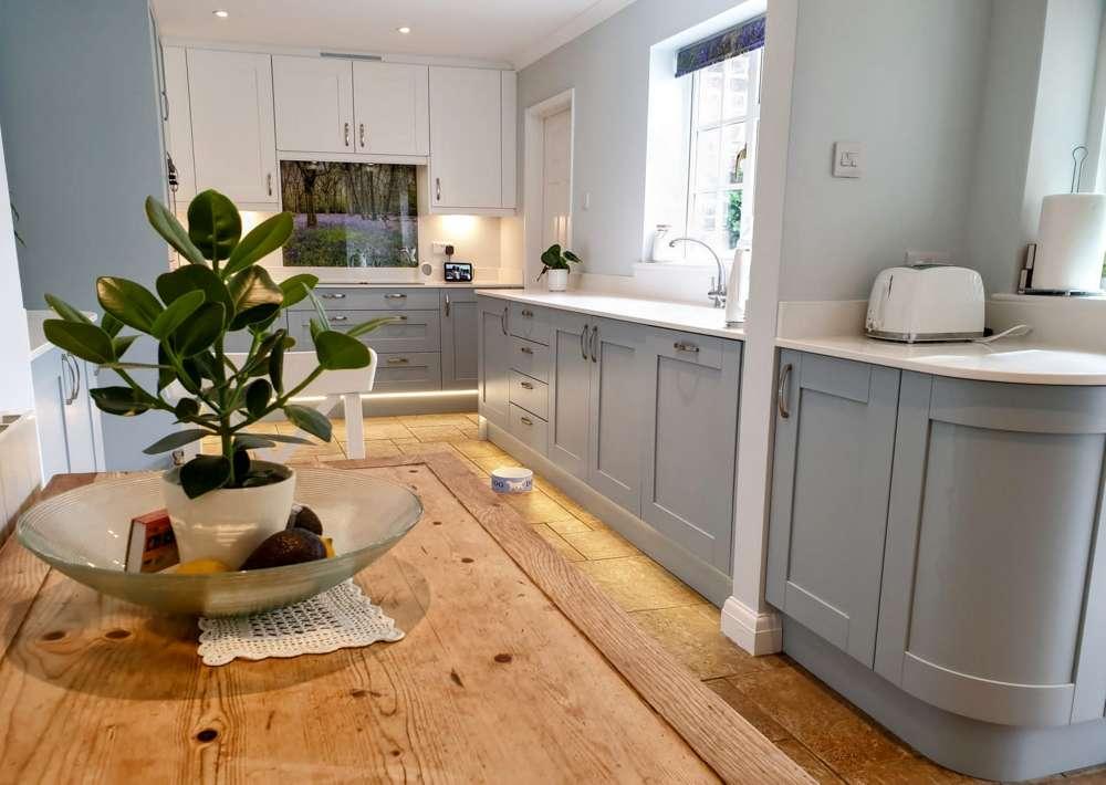 Pantry Blue Shaker Kitchen