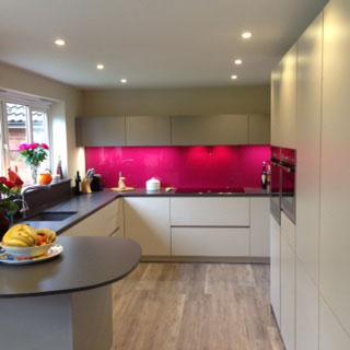 ALNO Kitchen at Hampshire Kitchens Alton